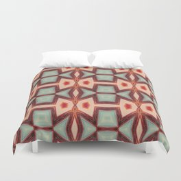 Fish kissing Pattern Art Duvet Cover
