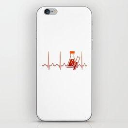 Chemist Heartbeat iPhone Skin