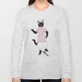 Sophie the Polydactyl Puppet Long Sleeve T-shirt