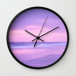 Sunrise Over Daytona Beach Wall Clock