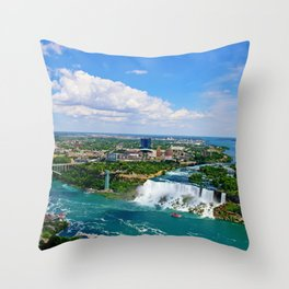 Bird's View Throw Pillow
