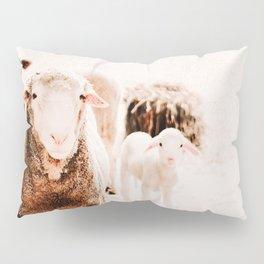 Milly's family portrait Pillow Sham