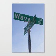 Wave Street Canvas Print