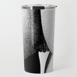 Abstract woman ink work Travel Mug