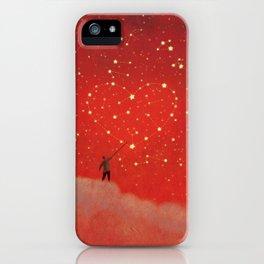Constellation - Red iPhone Case