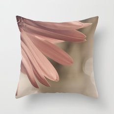 pink. Throw Pillow