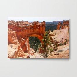 Natural Bridge - Bryce Canyon Metal Print