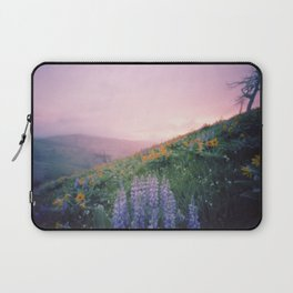 Wild Flowers in the Big Horn Mountains Laptop Sleeve
