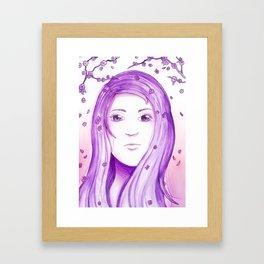 Colour Theme - Purple Framed Art Print