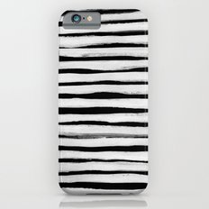Black and White Stripes II iPhone 6 Slim Case