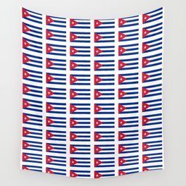 Flag of Cuba 2 -cuban,havana, guevara,che,castro,tropical,central america,spanish,latine Wall Tapestry