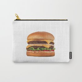 Juicy Double Cheeseburger Carry-All Pouch