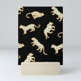 Leopard at Night Mini Art Print