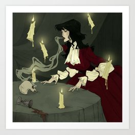 The Séance Art Print
