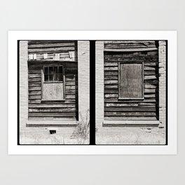 Who needs windows? Art Print