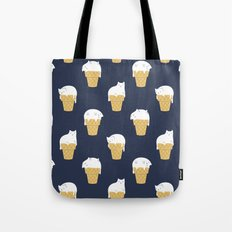 Meowlting Pattern Tote Bag