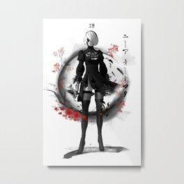 Ink 2B Metal Print