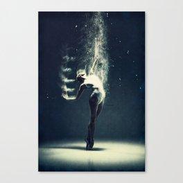 Dancer's soul... Canvas Print