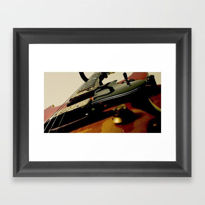 Guitar! Framed Art Print