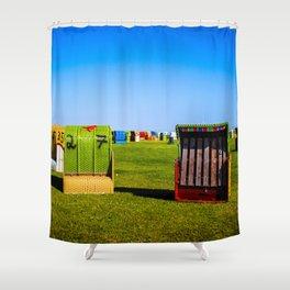 North Sea - Romance 2 Shower Curtain