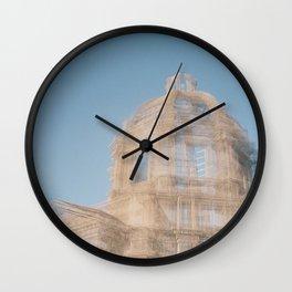 Sculpture at Music Festival Wall Clock