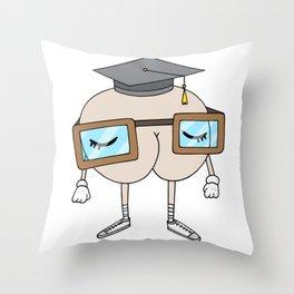 SMART ass Throw Pillow
