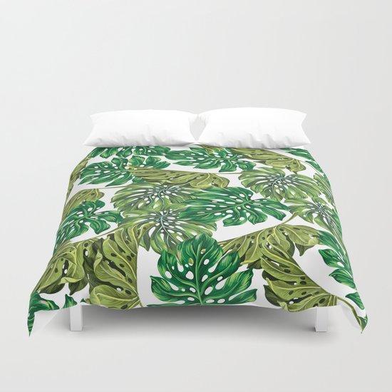 tropical haven Duvet Cover