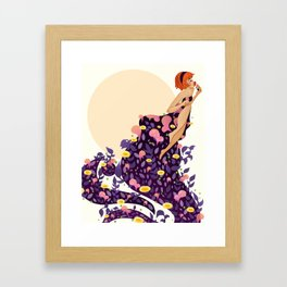 VESNA OF SPRING Framed Art Print