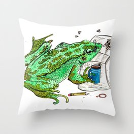 Gaylord's Weekly Challenge Throw Pillow