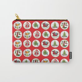 Christmas Pattern #1 Carry-All Pouch