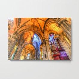 St Giles Cathedral Edinburgh Scotland Metal Print