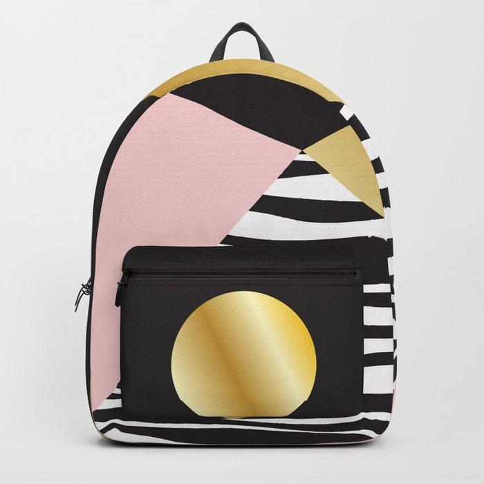 Golden Moon #buyart #society6 #decor Backpack