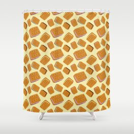 Gimme some sugar! yellow :) Shower Curtain