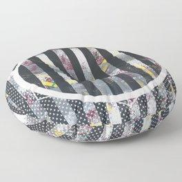 Polarized - dot graphic Floor Pillow