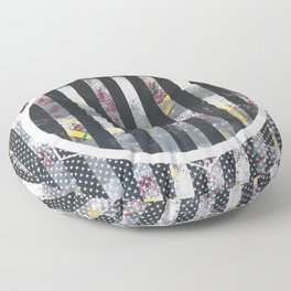 Polarized - dot graphic Floor Pillow