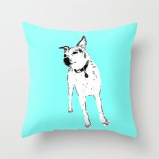 Jack Russell Terrior Throw Pillow