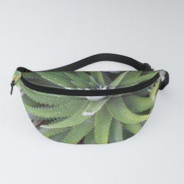Spikey Green Plant Fanny Pack