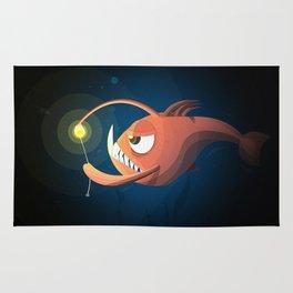 Good Night by Angler Fish Rug