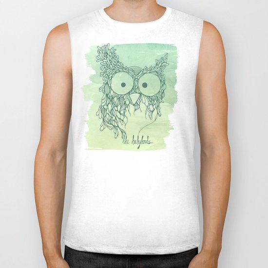 The Babybirds Owl 02 Biker Tank