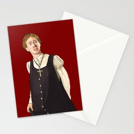 Mary is Plain Stationery Cards