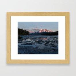 Lake Maligne Framed Art Print