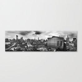 Growing City Canvas Print