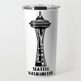 Seattle, Washington's Space Needle Travel Mug