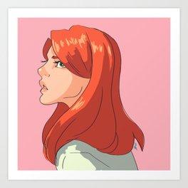 Evans Art Print