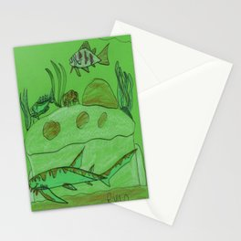 Rocky Overhang Stationery Cards