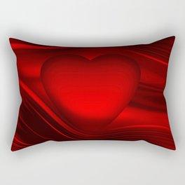 Red heart 16 Rectangular Pillow