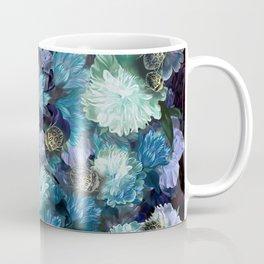 """Baroque floral with bugs"" Coffee Mug"