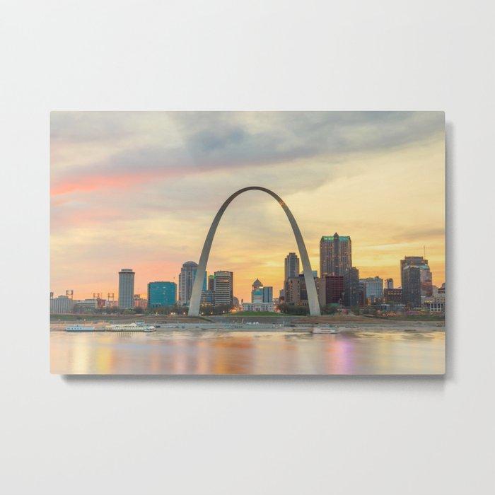 St Louis - USA Metal Print
