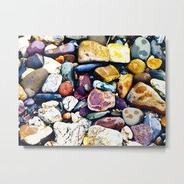 Rhine Stones Metal Print