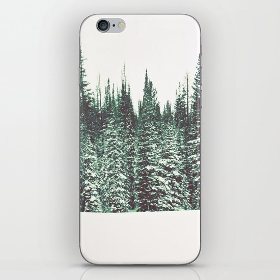 Snow on the Pines iPhone & iPod Skin